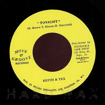 Cover art - Keith & Tex: Tonight