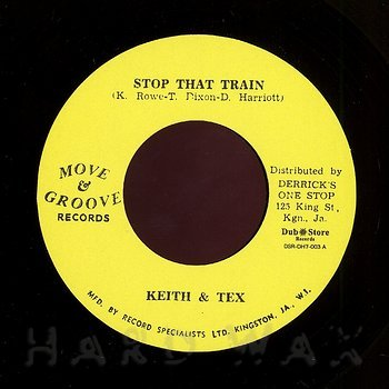 Cover art - Keith & Tex: Stop That Train