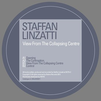Cover art - Staffan Linzatti: View From The Collapsing Centre