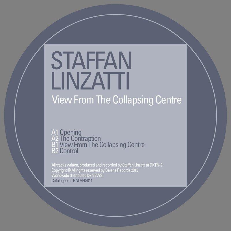 Cover art - Staffan Linzatti: View From The Collapsing Centre