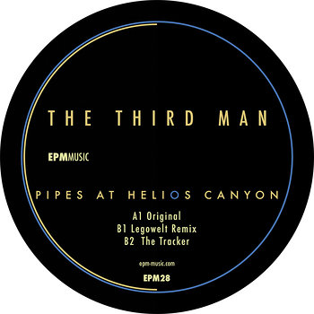 Cover art - The Third Man: Pipes At Helios Canyon