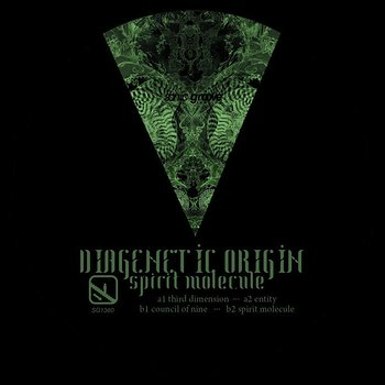 Cover art - Diagenetic Origin: Spirit Molecule
