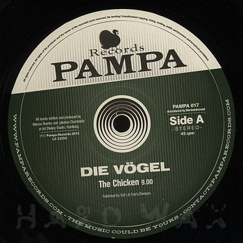 Cover art - Die Vögel: The Chicken EP