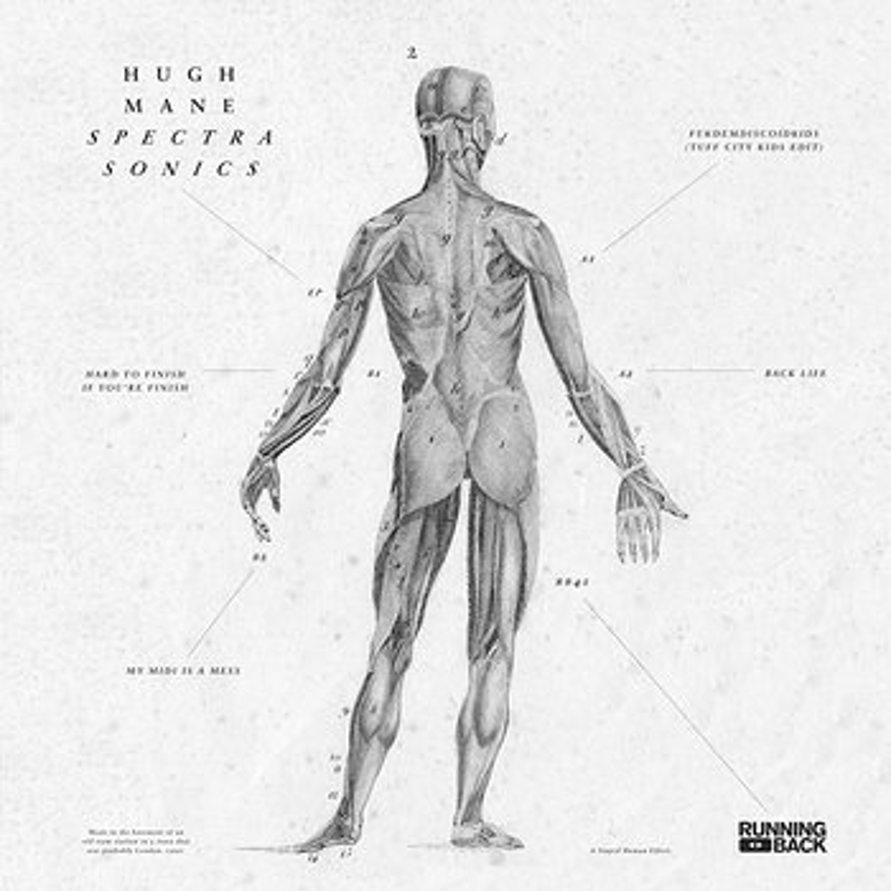 Cover art - Hugh Mane: Spectra Sonics EP