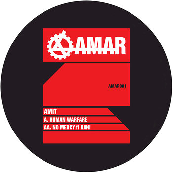 Cover art - Amit: Human Warfare