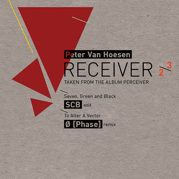 Cover art - Peter Van Hoesen: Receiver 2/3