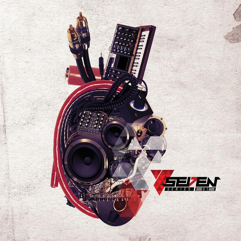 Cover art - Victor Santana: Seven Series 01