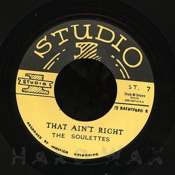 Cover art - The Soulettes: That Ain't Right