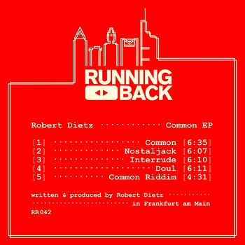 Cover art - Robert Dietz: Common EP