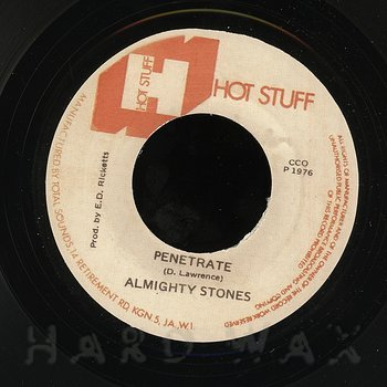 Cover art - Almighty Stones: Penetrate