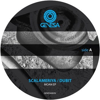Cover art - Scalameriya & Dubit: Moan EP