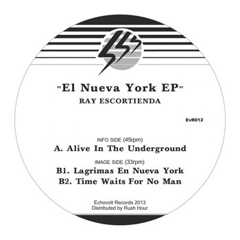 Cover art - Ray Escortienda: El Nueva York EP