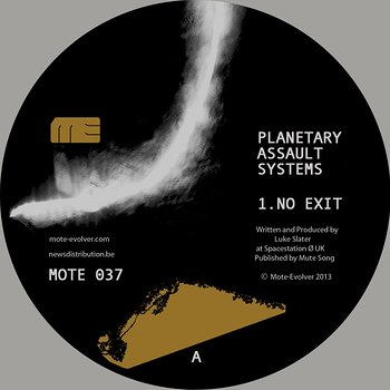 Cover art - Planetary Assault Systems: No Exit