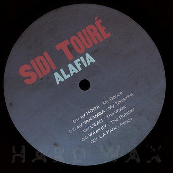 Cover art - Sidi Touré: Alafia
