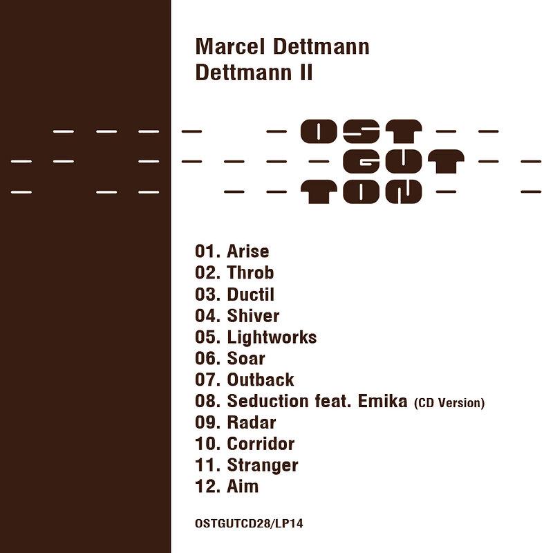 Cover art - Marcel Dettmann: Dettmann II