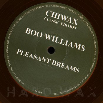 Cover art - Boo Williams: Pleasant Dreams