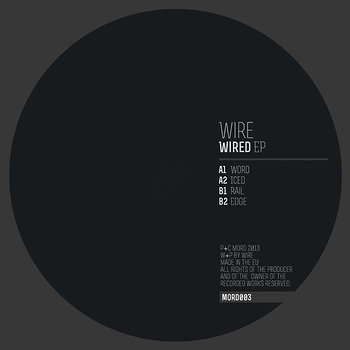 Cover art - Wire: Wired EP