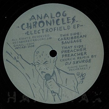 Cover art - Analog Chronicles: Electrofield EP