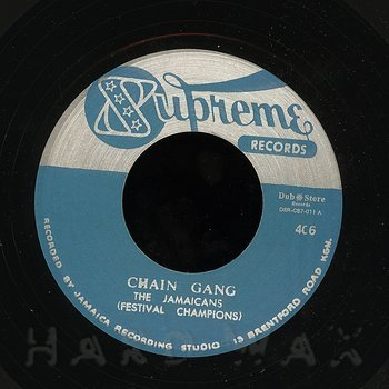 Cover art - The Jamaicans: Chain Gang