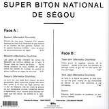 Cover art - Super Biton National De Ségou: Super Biton National De Ségou