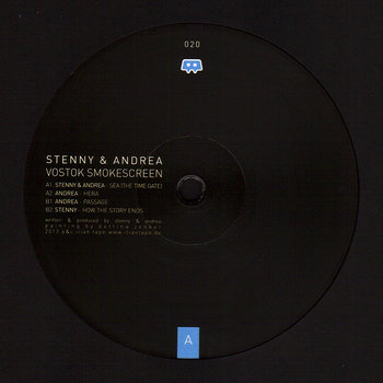Cover art - Stenny & Andrea: Vostok Smokescreen