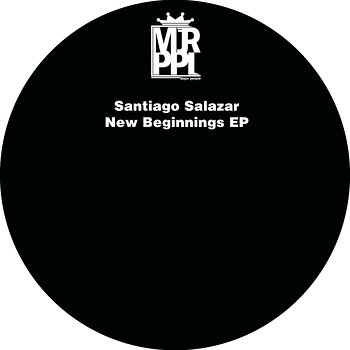 Cover art - Santiago Salazar: New Beginnings EP