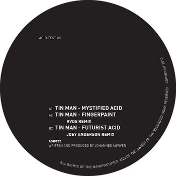 Cover art - Tin Man: Acid Test 08