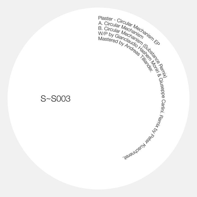 Cover art - Plaster: Circular Mechanism