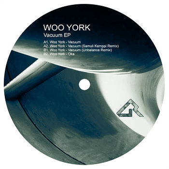 Cover art - Woo York: Vacuum EP