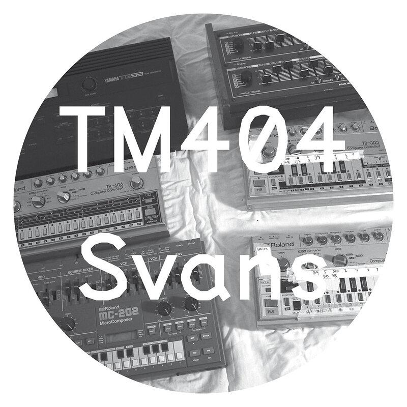 Cover art - TM404: Svans EP