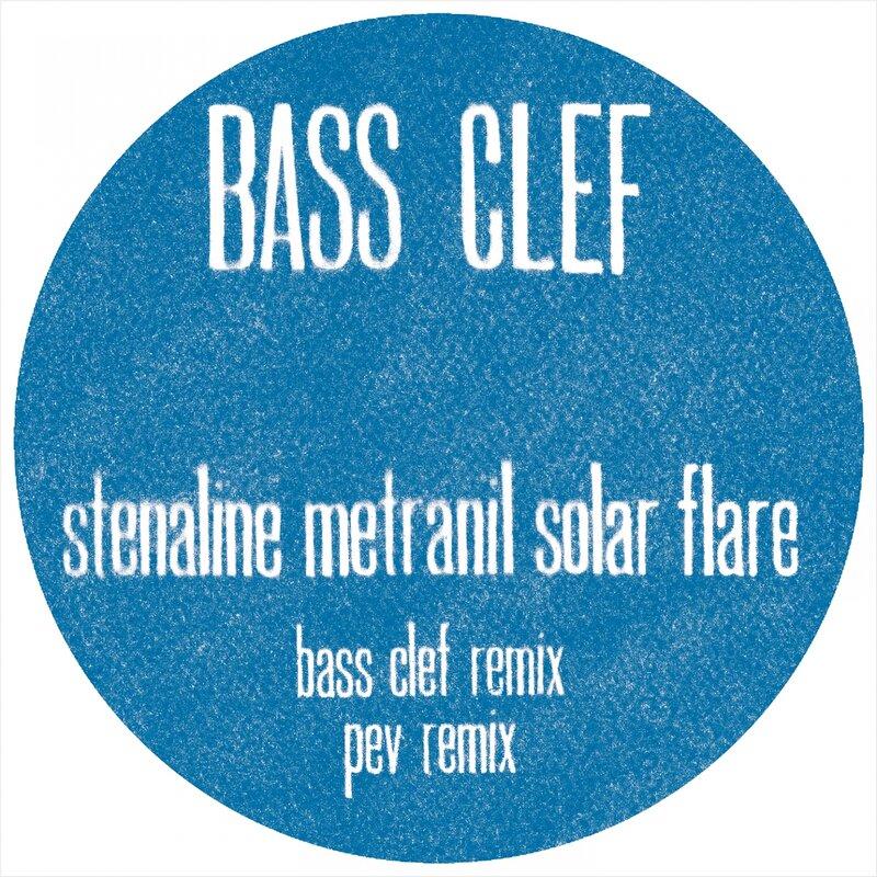 Cover art - Bass Clef: Stenaline Metranil Solar Flare