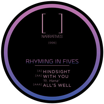 Cover art - Rhyming In Fives: Hindsight EP