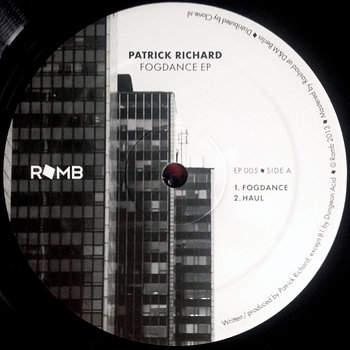 Cover art - Patrick Richard: Fogdance EP