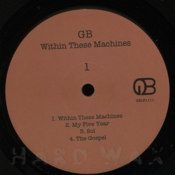 Cover art - GB: Within These Machines
