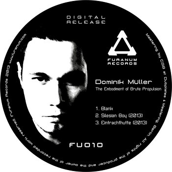 Cover art - Dominik Muller: The Embodiment of Brute Propulsion