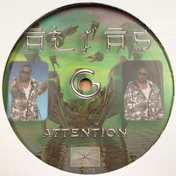 Cover art - Alias G: Attention