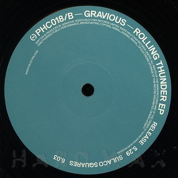 Cover art - Gravious: Rolling Thunder EP