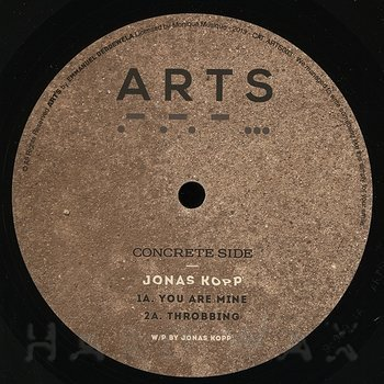 Cover art - Jonas Kopp: Throbbing EP