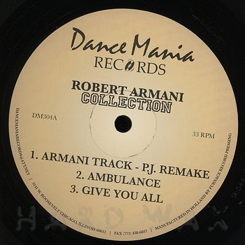 Cover art - Robert Armani: Collection