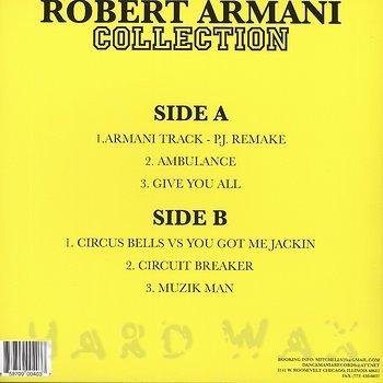 Cover art - Robert Armani: Collection