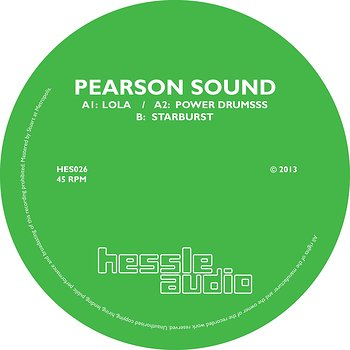 Cover art - Pearson Sound: Starburst EP