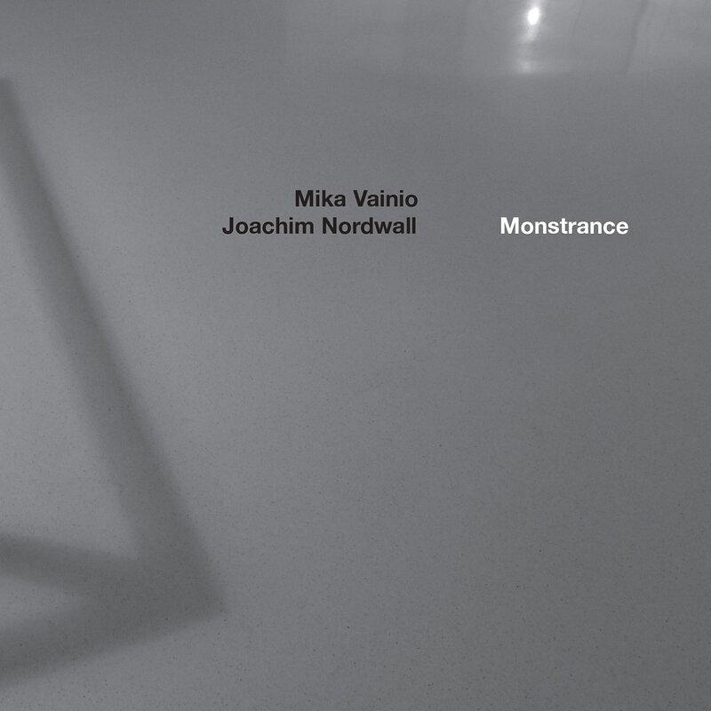 Cover art - Mika Vainio & Joachim Nordwall: Monstrance