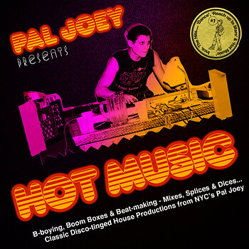 Cover art - Pal Joey: Hot Music