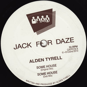 Cover art - Alden Tyrell: Some House
