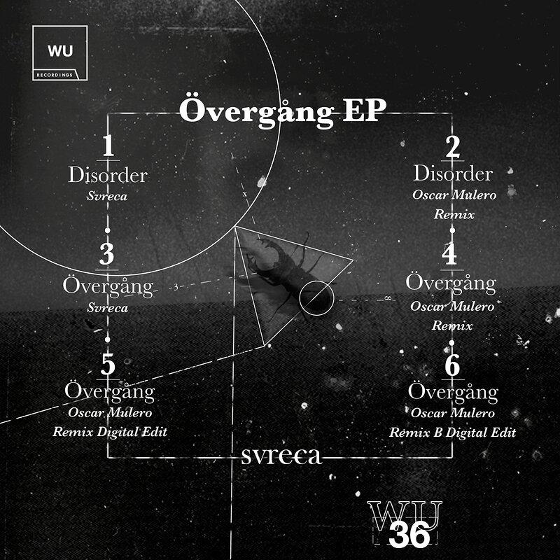 Cover art - Svreca: Övergång EP
