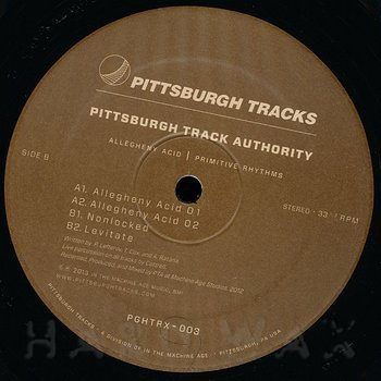 Cover art - Pittsburgh Track Authority: Allegheny Acid