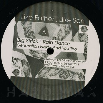 Cover art - Big Strick: Like Father Like Son