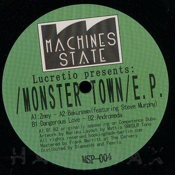 Cover art - Lucretio: Monster Town EP