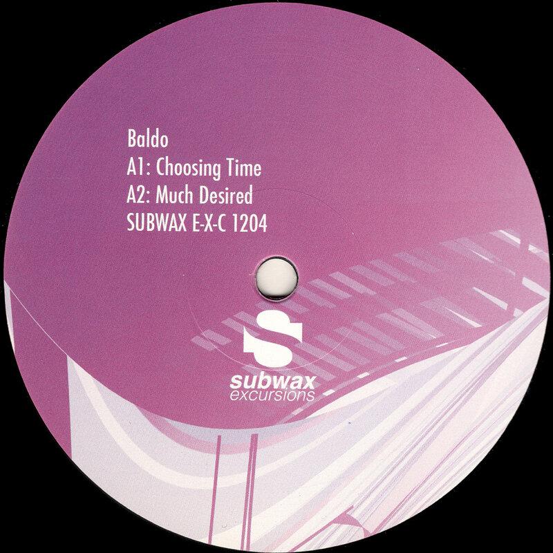 Cover art - Baldo: Choosing Time EP