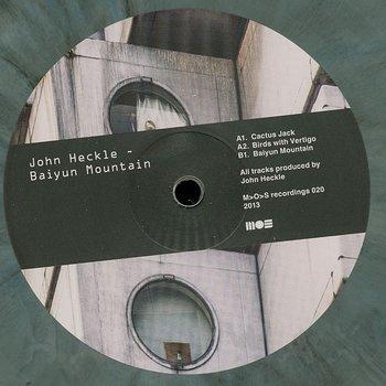 Cover art - John Heckle: Baiyun Mountain